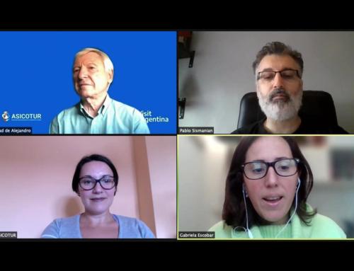 Reunión de trabajo con los responsables del Instituto de Promoción Turística de Argentina